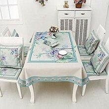 QY Tischdecke Tischdecke Baumwolle Und Leinen