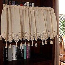 QYDF Küche Halber Vorhang Scheiben gardine