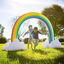 QYHSS Aufblasbarer Riese Regenbogen Bogen
