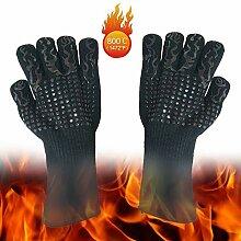 QYJpB Extrem Hitzebeständige Handschuhe,