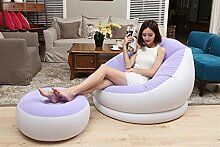 QYJpB Outdoor Aufblasbare Liege Air Sofa Faul