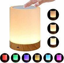 QYL LED-Nachtlichter für Kinder, 7 farbwechselnde