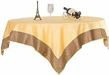 QYL Tischtuch Für Runde Tisch Hotel Tuch