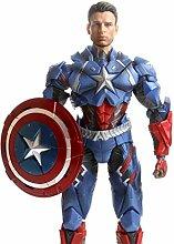 QYSZYG Captain America realistische Modell Statue