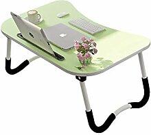 Qyzdzdz - Laptoptisch Laptop-Betttisch Faltbarer