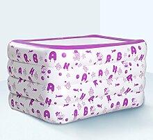 qz Inflatable Bathtub Aufblasbare Pool Kinder Dicker Kinder Waten Pool Familie Spiel Pool Pink Sowohl für Erwachsene als auch für Kinder