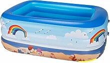 qz Inflatable Bathtub Kinder Aufblasbare Schwimmbad Falten Aufblasbare Badewanne ( größe : 300cm )