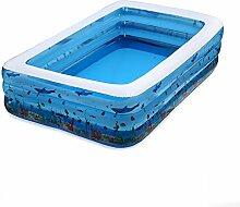 qz Inflatable Bathtub Kinder Aufblasbare Schwimmbad Falten Aufblasbare Badewanne ( größe : 120cm )