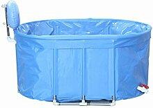 qz Inflatable Bathtub Ovale Baumwolle Doppelte Warm Falten Aufblasbare Badewanne ( größe : Xl )