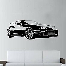 Qzheng Auto Sport Applique Wandkunst Deco