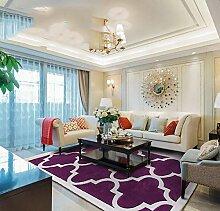 Qzny Teppich-Designer-Teppich-Wohnzimmer-Teppich
