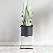 qzp Blumenregal Metall Blumen-Topf-Stand Für