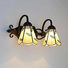 QZz Badezimmer LED-moderne Glas-Spiegel-Lampe-Schrank-Wand-Lampe ( größe : 40 cm )