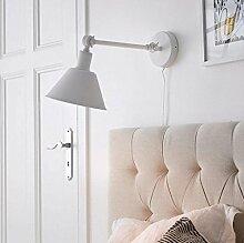 QZz Wandleuchten Wand-Lampe Bedside Einfache moderne kreative Schlafzimmer Leselampe Wohnzimmer-Gang Treppenhaus Wand Lampe Lampen ( Farbe : B )
