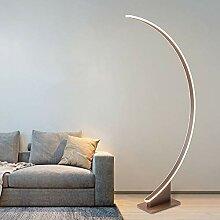 QZZZ Bogenlampe LED Modern Wohnzimmer Stehlampe