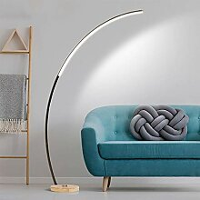 QZZZ LED Bogenlampe Modern Stehlampe Dimmbar mit