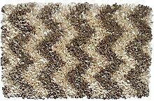 R 16 Home Zottelteppich, zottelig, 6,9 x 11,9 cm,