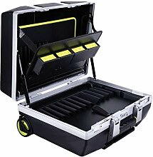 RAACO Werkzeugkoffer ToolCase fahrbar mit Rollen,