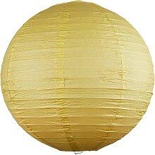 Rabalux 4893 - Lampenschirm RICE gelb Durchschn.30