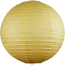 Rabalux 4893 - Lampenschirm RICE gelb E27