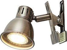 Rabalux 6718 - Lampe mit dem Klammer RALPH GU10/15W