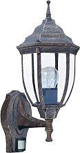 Rabalux - Outdoor leuchte mit Sensor 1xE27/60W/230V