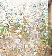 rabbitgoo 3D Fensterfolie Selbstklebend Dekorfolie