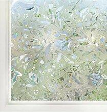 rabbitgoo 3D Statisch Selbsthaftend Fensterfolie