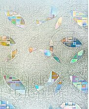 rabbitgoo 3D Statische Fensterfolie
