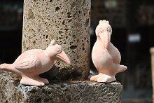 Rabenpärchen,terracotta,24+16cm hoch,hübsche Deko