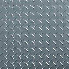 Raceday 95Mil diamondtread selbstklebend Diamant Garage Boden Fliesen 30,5x 30,5cm grau 20Stück