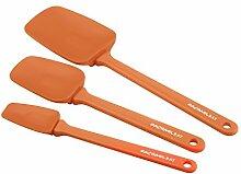 Rachael Ray Werkzeuge Spoonula 3-teilig Orange