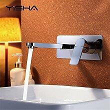 RACHELER Das Kupfer kalt- und in die Wand Spülen Waschbecken Bad konsole Waschbecken Waschbecken Wasserhahn montieren