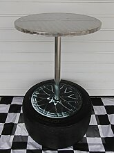 Racing Stehtisch/Bistrotisch aus Alu mit
