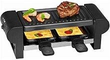 Raclette 2 Personen Grillplatte Tischgrill