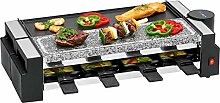 Raclette Grill 8 Personen Grillplatte Tischgrill