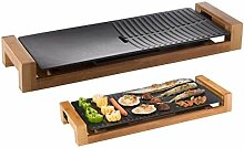 Raclette Grill, Barbecue-Topf Double Pot Electric