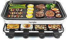 Raclette Grill für 8 Personen, 8 Mini Raclette