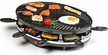 Raclette Grill   Partygrill   elektro Tischgrill  