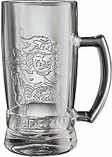 Radegast 6 Stück Henkelglas 0,5 l Halbliterglas