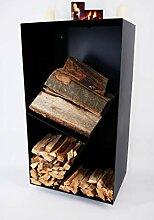 radeNX Holzregal aus Metall zum Aufhängen –