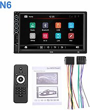 Radio Bluetooth Stereo Touchscreen-Player 2 Din