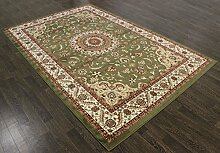 raditionellen Persischen Marmor Teppich 9,8x Bockleiter grün Orient-Teppich a2zrug