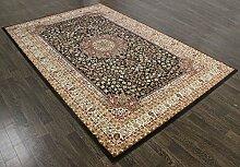 raditionellen Persischen Zirkon Teppich 7,5x 5.2ft schwarz Orient-Teppich a2zrug