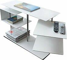 Radius Beistelltisch X-Centric 2 Table weiss 50 x 30 x 77,5 cm - 570 c