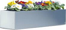 Radius Design - Blumenkasten 80 cm, Edelstahl