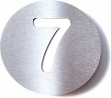 Radius Design - Hausnummer 7, weiß