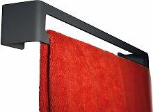 Radius Design - Puro Handtuchhalter (Wand), schwarz