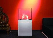 Radius Design Semi Flame 1,7 L Weiss gebürsteter