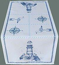 Raebel Leuchtturm Tischdecke Maritim Decke